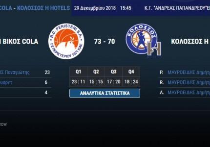 Το πανόραμα της Basket League (Day 11)