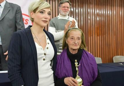 Χριστίνα Τσιλιγκίρη, η πρώτη γυναίκα μέλος των Βετεράνων του Ολυμπιακού (pics)