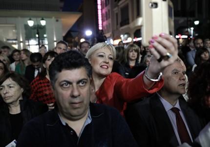 Παρουσία Βαγγέλη Μαρινάκη τα εγκαίνια του εκλογικού κέντρου του «Πειραιά Νικητή» (pics)