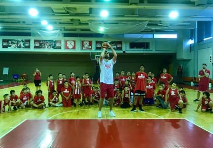 Ο Μιλουτίνοφ στο Summer Camp 2019! (pics+vid)
