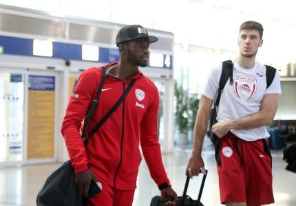 «Πέταξε» για Μόσχα ο Ολυμπιακός (pics)