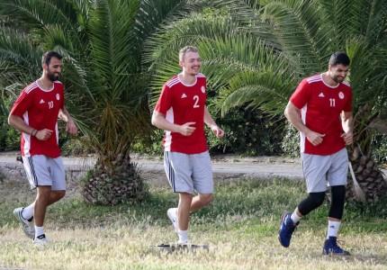 «Κλικ» από την προπόνηση του Ολυμπιακού! (photos)