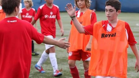 Δοκιμές ποδοσφαιριστών...