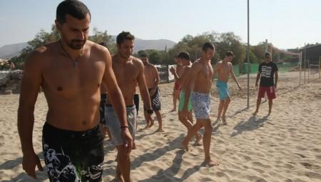 Προπόνηση στην άμμο