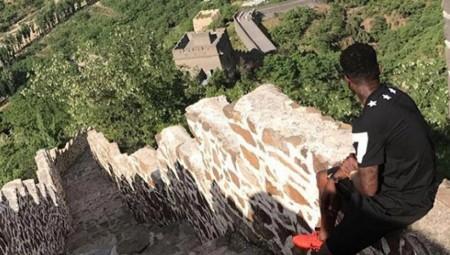 Στο Σινικό Τείχος ο Ιντέγε (pic)
