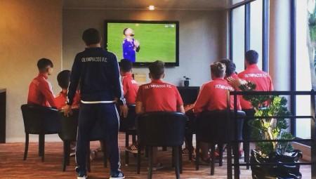 Βλέπουν τον τελικό οι παίκτες της Κ17