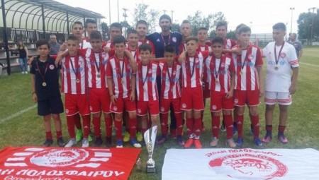 Πρωταθλήτρια ΕΠΣ Μακεδονίας η Σχολή Θεσσαλονίκης!