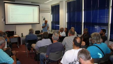 Ενημερωτική συνάντηση στελεχών της ΟΜΑΕ με εκπροσώπους του Τύπου