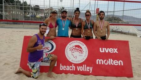 Επιτυχημένη η πρώτη περίοδος του Οlympiacos Beach Volley Tournament (pics)