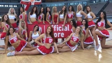 «Αστέρια» οι cheerleaders του Θρύλου (pics)