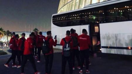 Εφτασε στη Ντόχα η Κ17 του Θρύλου