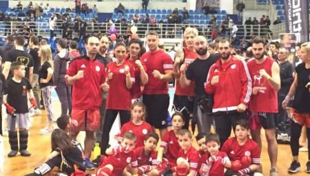 Διακρίσεις για την Ακαδημία Kick boxing του Ολυμπιακού