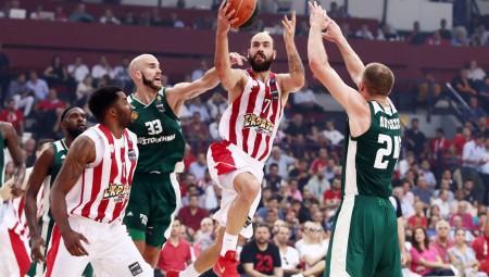 ΟΛΥΜΠΙΑΚΟΣ - Παναθηναϊκός 92-76 (τελικό)