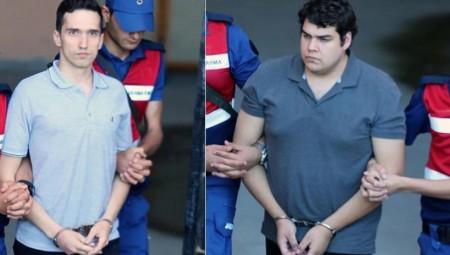 Απορρίφθηκε το νέο αίτημα αποφυλάκισης των Ελλήνων στρατιωτικών