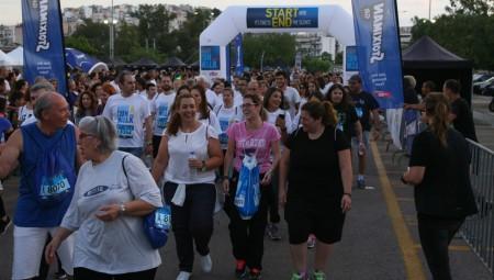 Τεράστια η συμμετοχή στον αγώνα δρόμου (pics)