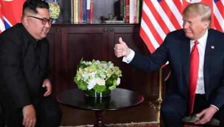 Ενθουσιασμένος ο Τραμπ: Ήταν μια φανταστική συνάντηση με τον Κιμ