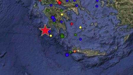 Ισχυρός σεισμός 5,3 βαθμών στην Πύλo