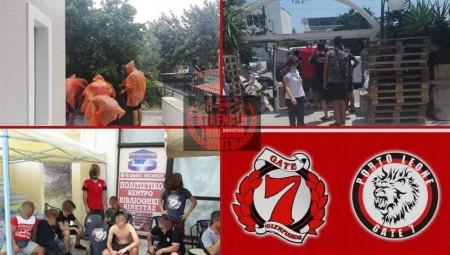Η Θύρα 7 συνεχίζει τη στήριξη στους πυρόπληκτους