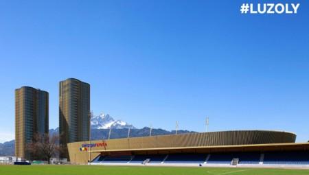 Ο Ολυμπιακός παρουσιάζει το γήπεδο της Λουκέρνης (pics)