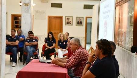 Η πρώτη συνάντηση της Ακαδημίας πόλο του Θρύλου (pics)