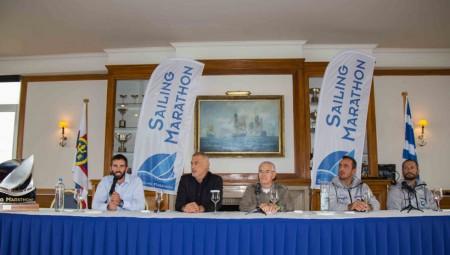 Όλα έτοιμα για την εκκίνηση στο Sailing Marathon