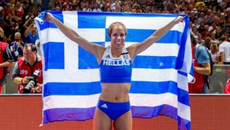 Υποψήφια για αθλήτρια της χρονιάς η Στεφανίδη!