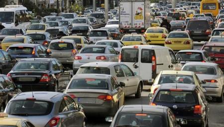 Κυκλοφοριακό χάος στην Αθήνα!