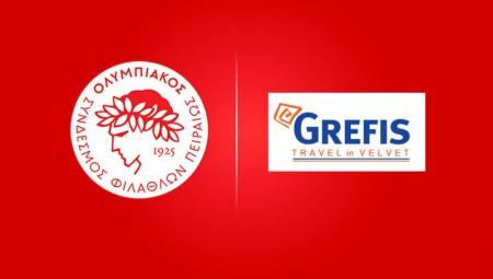 Τα προνόμια για τα Μέλη και τους φιλάθλους του Ολυμπιακού από το Grefis Travel