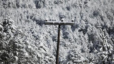 Χιόνια και στην Αθήνα