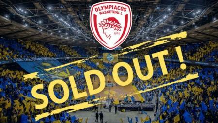 Sold out η Μακάμπι για Ολυμπιακό