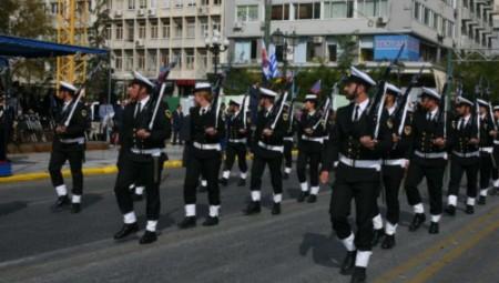Με το «Μακεδονία Ξακουστή» πραγματοποιήθηκε η παρέλαση στον Πειραιά