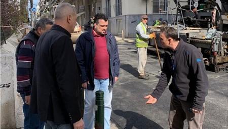 Μώραλης: Αναβαθμίζουμε το οδικό δίκτυο της πόλης μας