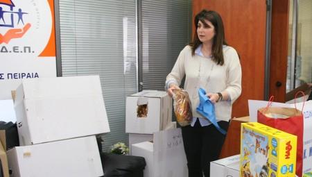 Λαουλάκου: «Προσπαθούμε να βελτιώνουμε την καθημερινότητα των συμπολιτών μας»