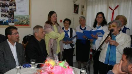 Ο Γιάννης Μώραλης στις εκδηλώσεις των Κέντρων Αγάπης ενόψει του Πάσχα