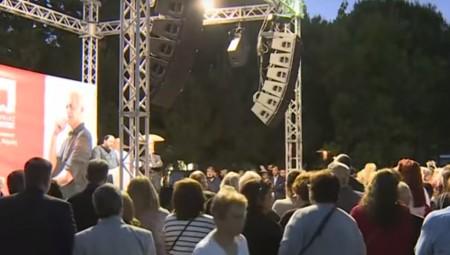 Μεγαλειώδης συγκέντρωση του Βαγγέλη Μαρινάκη στα Καμίνια! (vid)