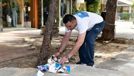 Εθελοντές του «Πειραιά Νικητή» καθάρισαν την πόλη