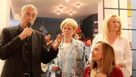Ο Γιάννης Μώραλης στην εκδήλωση του Συνδέσμου Γυναικών Κρήτης και Νήσων Αιγαίου