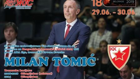 Σε σεμινάριο προπονητών ο Τόμιτς με ΒανΓκάντι και Κοκόσκοφ