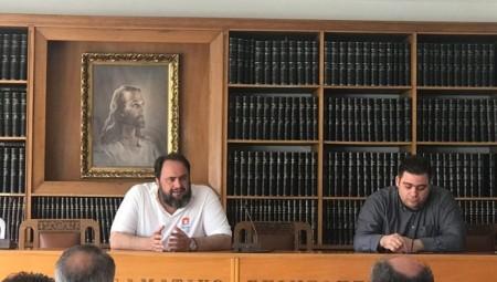 Βουτσινάς: «Ο Πειραιάς χρειάζεται τον Βαγγέλη Μαρινάκη»