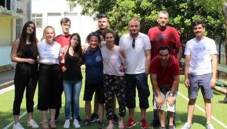 Οι εθελοντές του Ολυμπιακού στο ΚΕΕΠΕΑ (pics)