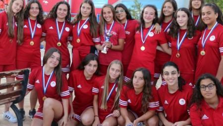 «Χάλκινες» οι Νεανίδες του Ολυμπιακού!