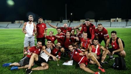 «Συγχαρητήρια στην πρωταθλήτρια ομάδα στίβου των Ανδρών» (pic)