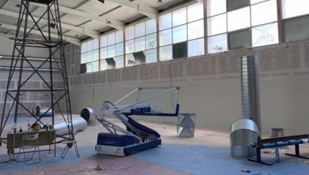 Συνεχίζονται οι εργασίες για την ανακατασκευή του κλειστού των Καμινίων