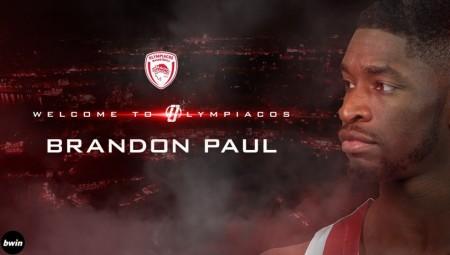 Παίκτης του Ολυμπιακού ο Μπράντον Πολ!