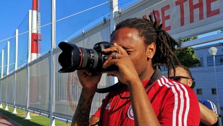 Ο Σεμέδο σε ρόλο φωτογράφου… (pic)