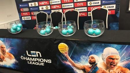 Ζωντανά η κλήρωση του Champions League στο πόλο (link)