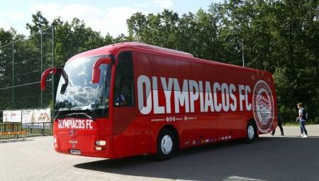 Έφυγε η αποστολή του Ολυμπιακού