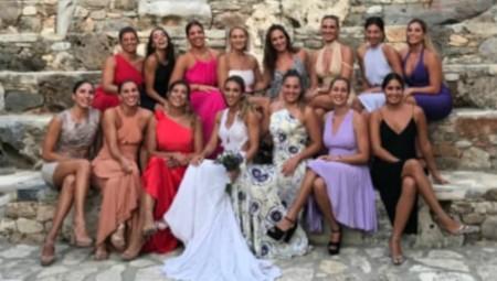 Παντρεύτηκε η αρχηγός του Θρύλου! (pics)
