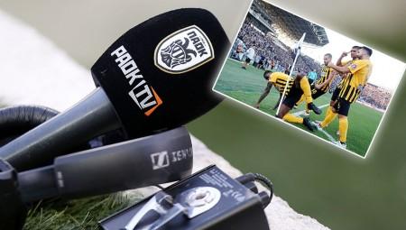 Στο PAOK TV δεν το… είδαν το κατούρημα του Ιντέγε!