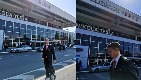 Στο Βελιγράδι ο Ολυμπιακός! (pics)